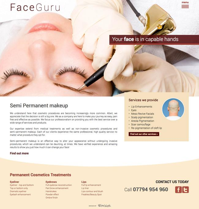 cosmetic-website-design-project-wales