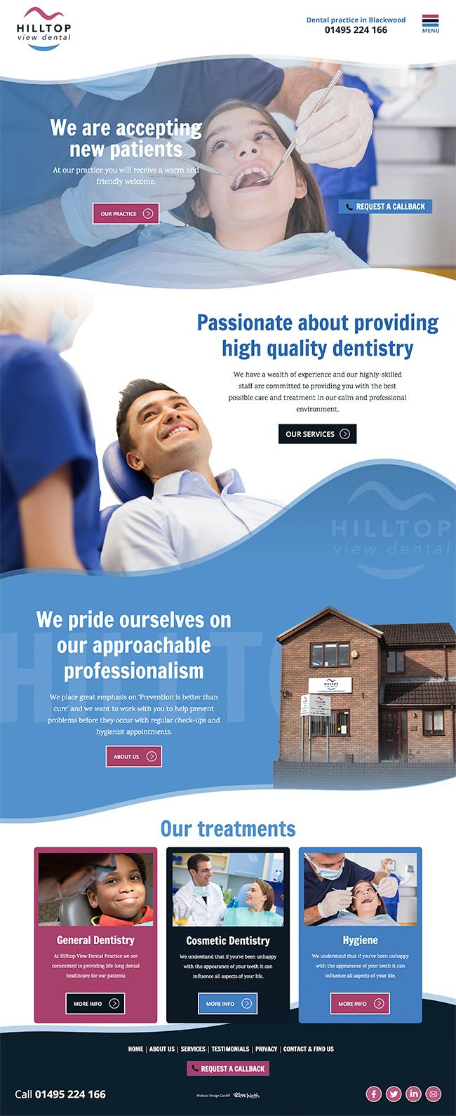 dental practice south wales designers