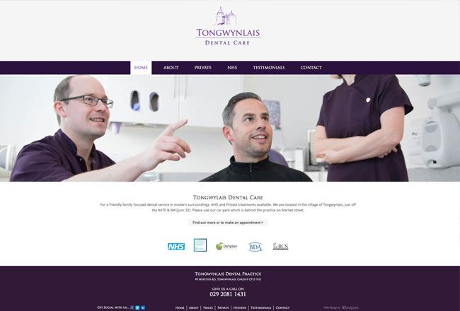 dental-web-site-cardiff