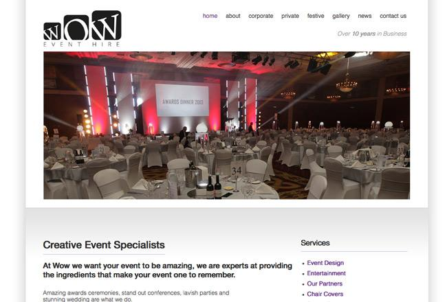 event-website-designer
