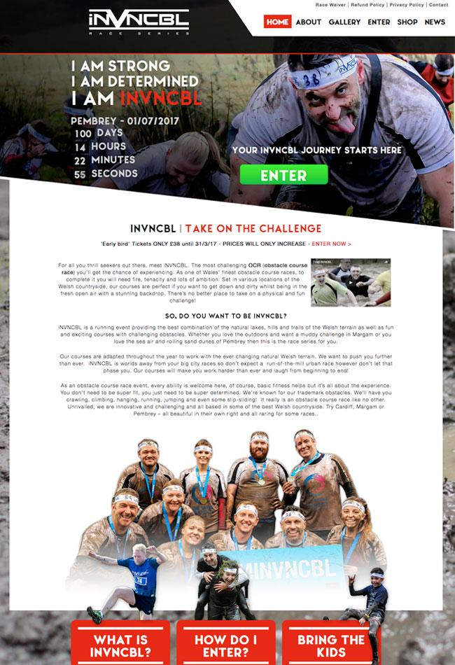 fitness-event-web-design-cardiff