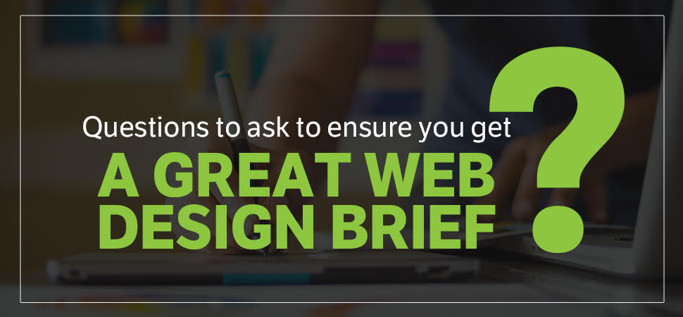 great web design brief