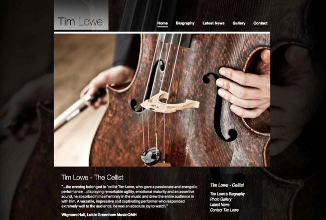 music-web-site-design
