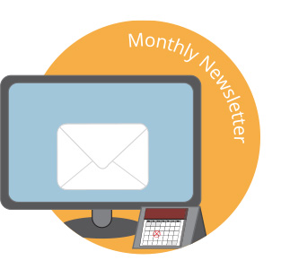 Monthly Newsletter for websites Cardiff