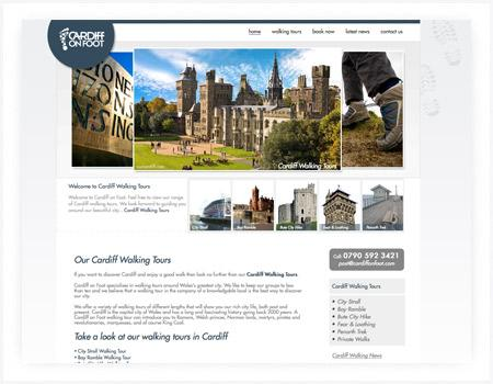 web-design-cardiff-walking
