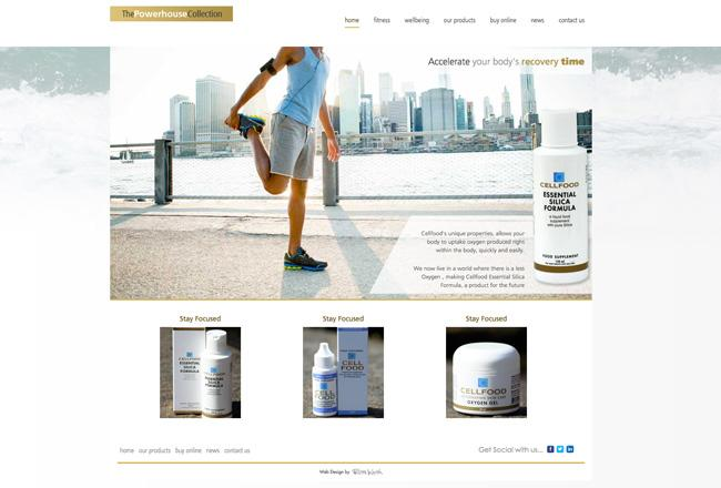 web-design-healthcare-product-shop